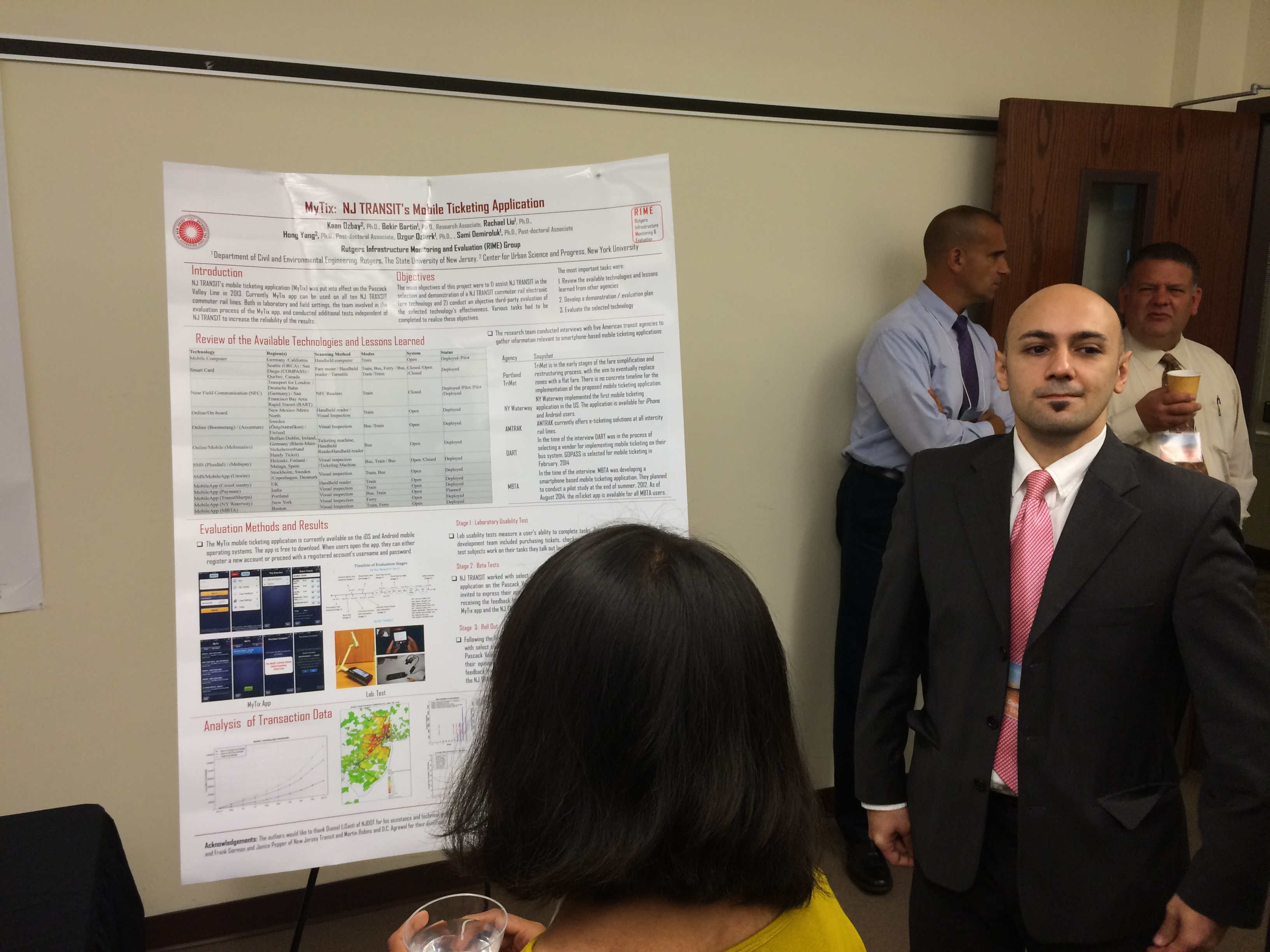 RIME Group Presented Various Project during the 16th Annual NJDOT ...